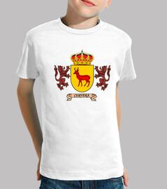 Camiseta niños Escudo Apellido Cervera
