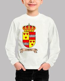 Camiseta niños Escudo Apellido Cortés