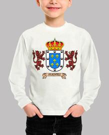 Camiseta niños Escudo Apellido Fuentes