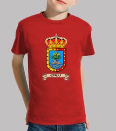 Camiseta niños Escudo Apellido García
