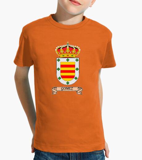 Ropa infantil Camiseta niños Escudo Apellido Gómez