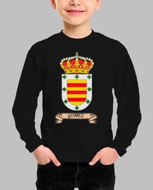 Camiseta niños Escudo Apellido Gómez