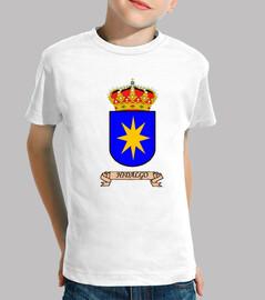 Camiseta niños Escudo Apellido Hidalgo