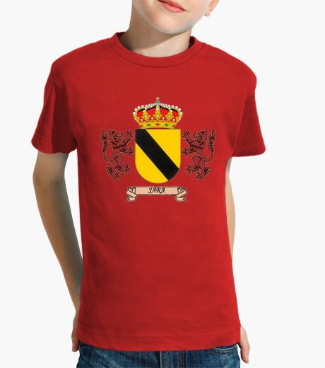 Ropa infantil Camiseta niños Escudo Apellido Jara