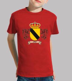 Camiseta niños Escudo Apellido Jara