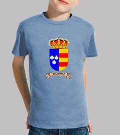Camiseta niños Escudo Apellido jimenez