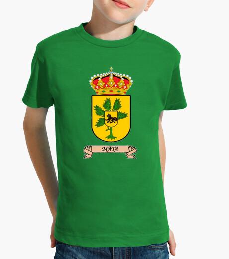 Ropa infantil Camiseta niños Escudo Apellido Mata