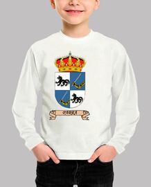 Camiseta niños Escudo Apellido Parra