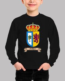 Camiseta niños Escudo Apellido Pérez