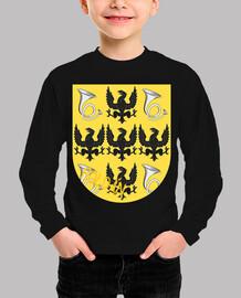 Camiseta niños Escudo Apellido Roldán