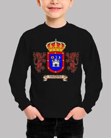 Camiseta niños Escudo Apellido Vazquez