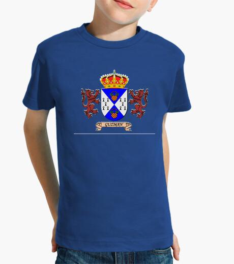 Ropa infantil Camiseta niños Escudo Apellio Guzman