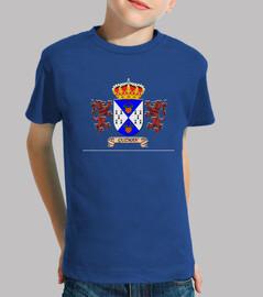 Camiseta niños Escudo Apellio Guzman