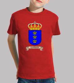 Camiseta niños Escudo Apelllido Esteban