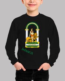 Camiseta niños Escudo de Andalucía