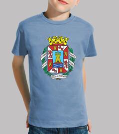 Camiseta niños Escudo de Cartagena