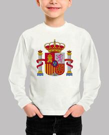 Camiseta niños Escudo de España