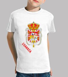 Camiseta niños Escudo de provincia de granada