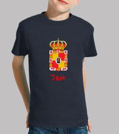 Camiseta niños Escudo de provincia de Jaén