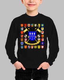 Camiseta niños Escudo Familia  Padilla