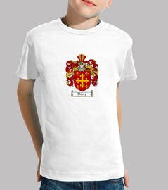 Camiseta niños Escudo Familia Pérez