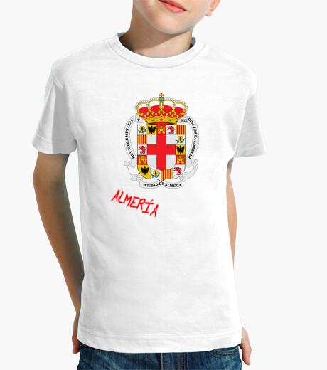 Ropa infantil Camiseta niños Escudo Provincia Almería