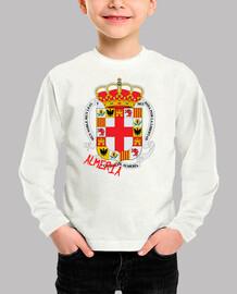 Camiseta niños Escudo Provincia Almería