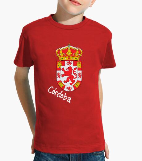 Ropa infantil Camiseta niños Escudo Provincia de Córdoba