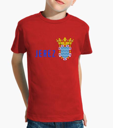 Ropa infantil Camiseta niños Escudo provincia de jeréz de la Frontera