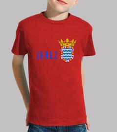 Camiseta niños Escudo provincia de jeréz de la Frontera