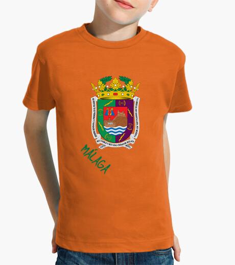 Ropa infantil Camiseta niños Escudo Provincia de Málaga
