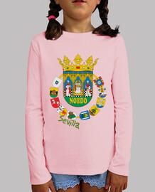 Camiseta niños Escudo Provincia de Sevilla