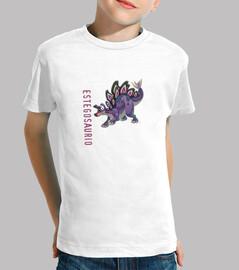 Camiseta niños Estegosaurio