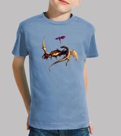 Camiseta niños Guerra de Dragones