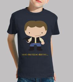 Camiseta niños Han Solo
