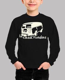 Camiseta niños La Casa con Ruedas 2