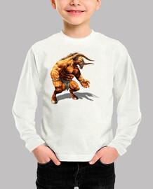 Camiseta niños Minotauro1