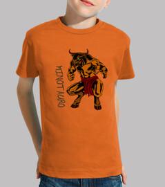 Camiseta niños Minotauro2