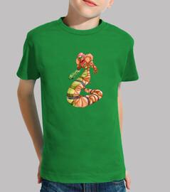 Camiseta niños Naga Robot
