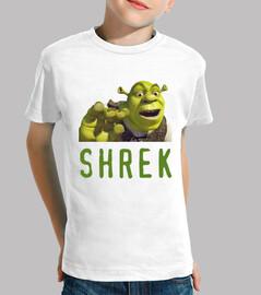 Camiseta niños Shrek
