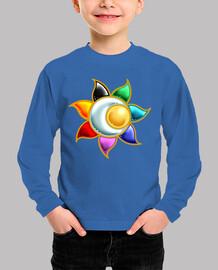 Camiseta niños Símbolo Circulo Solar