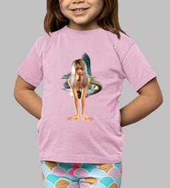 Camiseta niños Sirenita