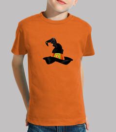 Camiseta niños Sombrero de bruja