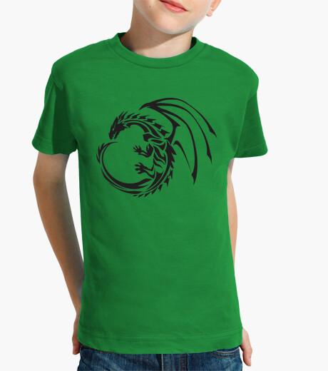 Ropa infantil Camiseta niños Tribal Dragon Circle