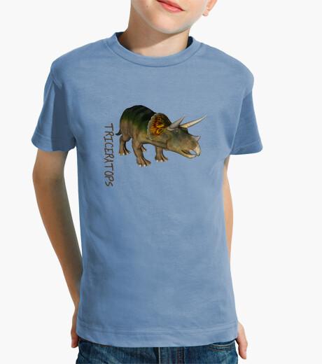Ropa infantil Camiseta niños Triceratops