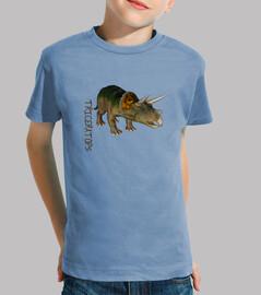 Camiseta niños Triceratops