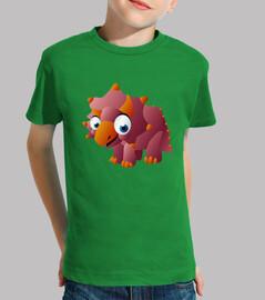 Camiseta niños Triceratops Kids