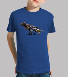 Camiseta niños Trio de Albertosaurus