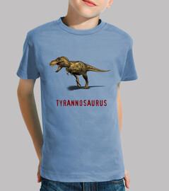 Camiseta niños Tyranosaurus