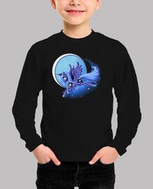 Camiseta niños Unicornio Lunar